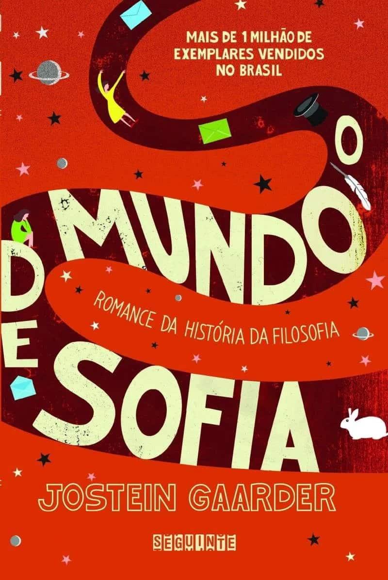 O mundo de Sofia de Jostein Gaarder - capa do livro